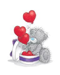 мишка тедди с сердечком рисунки