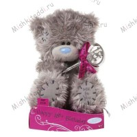 Мишка Тедди Me to You 15 см с ключом 18th Birthday - 18th Birthday Key Me to You Bear G01W1563 95