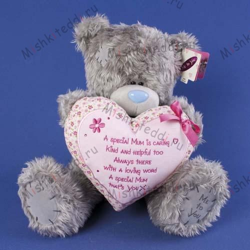 Мишка Тедди Me to You 40см с сердцем Special Mum - Special Mum Verse Heart Me to You Bear G01W0682 26 Special Mum Verse Heart Me to You Bear