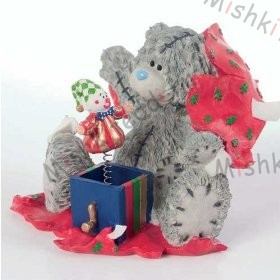Me to You Bears-Surprise Surprise Figurine Me to You Bears-Surprise Surprise Figurine