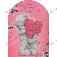 18th Birthday Girlfriend Me to You Bear Card