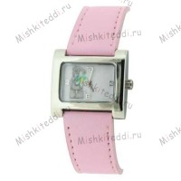 Часы Me to you - Мишка Тедди с ромашкой - Me to You Bear Watch Pink MTY227B 144