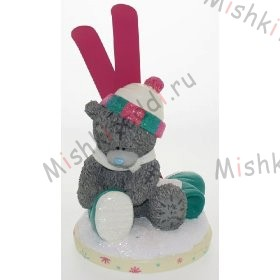 Me to You Bears-Figurine with Snow Ski and Boots 7in Me to You Bears-Figurine with Snow Ski and Boots 7in