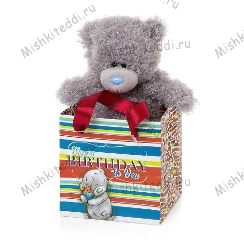 Мишка Тедди Me to you 13 см пакете Happy Birthday Мишка Тедди Me to you 13 см пакете Happy Birthday