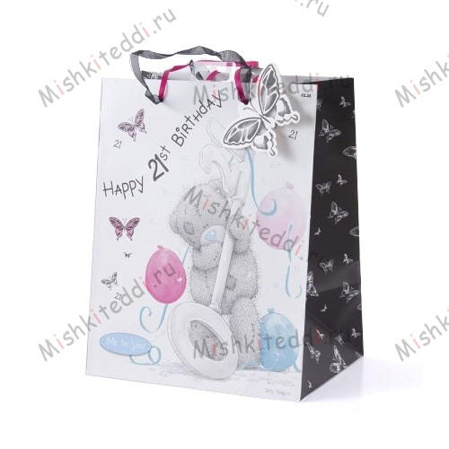 Tatty Teddy 21st Birthday Gift Bag