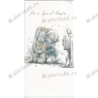 For a Special Couple Wedding Me to You Bear Card