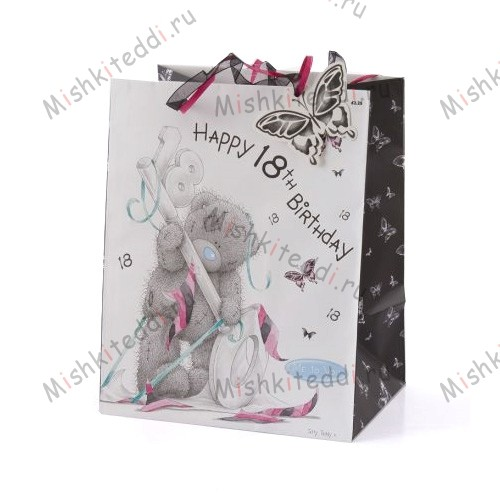 Tatty Teddy 18th Birthday Gift Bag Tatty Teddy 18th Birthday Gift Bag