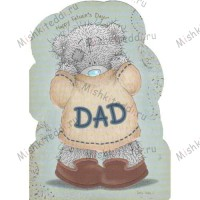 Dad in Jumper Me to You Bear Card