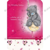 Mothering Sunday Mothers Day Me to You Bear Card