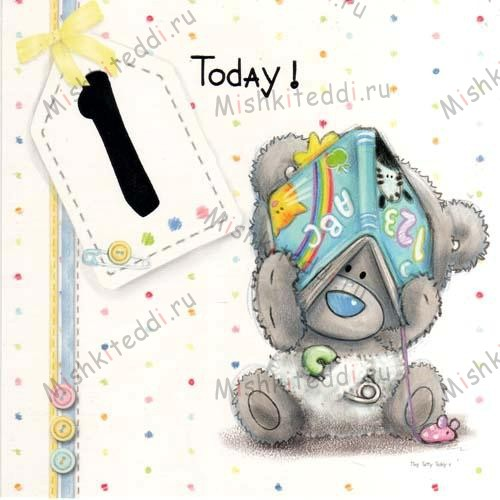 1st Birthday Me to You Bear Card 1st Birthday Me to You Bear Card