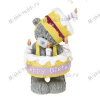Birthday Suit Me to You Bear Figurine (Dec Pre-Order)