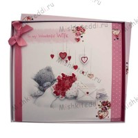 Wife Birthday Me to You Bear Boxed Card