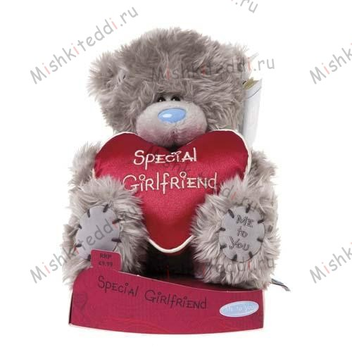 Мишка Тедди Me to You 15 см с сердцем Special Girlfriend - Special Girlfriend Heart Me to You Bear G01W1910 27 Special Girlfriend Heart Me to You Bear
