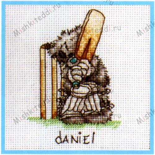 Cricket (Personalisation) Me to You Bear Cross Stitch Kit Cricket (Personalisation) Me to You Bear Cross Stitch Kit