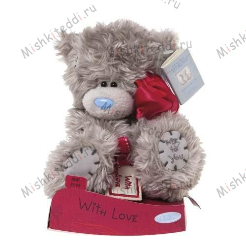 Мишка Тедди Me to You 15 см With Love - With Love Holding Rose Me to You Bear G01W1961 93 With Love Holding Rose Me to You Bear