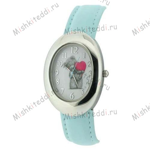 Часы Me to you - Мишка Тедди с сердцем - Me to You Bear Watch Blue MTY231A 11 Me to You Bear Watch Blue