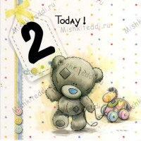 2nd Birthday Me to You Bear Card -