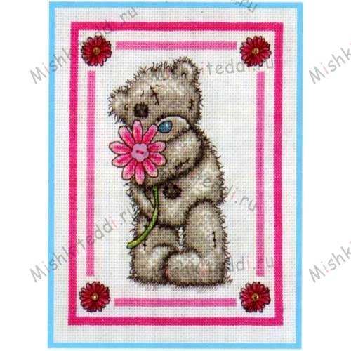 Special Flower Me to You Bear Cross Stitch Kit Special Flower Me to You Bear Cross Stitch Kit