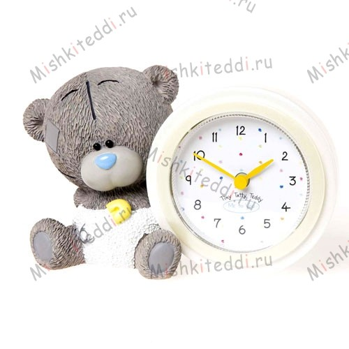 Мишка Тедди Me to You часы детские - Me To You tiny Tatty Teddy Baby Clock G92Q0047 89 Me To You tiny Tatty Teddy Baby Clock
