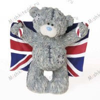 Flying The Flag Me to You Bear Figurine (Dec Pre-Order)