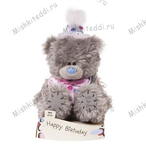 Мишка Тедди Me to You 15 см в костюме Happy Birthday - Happy Birthday Clown Me to You Bear G01W1986 75 Happy Birthday Clown Me to You Bear