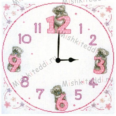 """Tatty Teddy Clock"", из коллекции ""Me To You"" ""Tatty Teddy Clock"", из коллекции ""Me To You"""