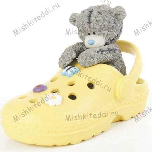 Crocodile Shoes Me to You Bear Figurine Crocodile Shoes Me to You Bear Figurine