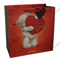 Large Love Me to You Bear Gift Bag