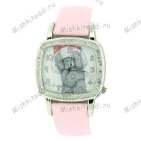 Часы Me to you - Мишка Тедди в шляпе - Me to You Bear Watch Pink MTY101/B 86