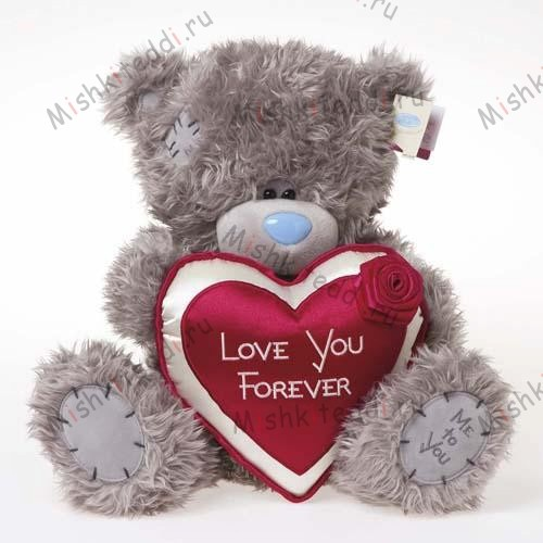 Мишка Тедди Me to You 30см с сердцем Love You Forever - Love You Forever Heart Me to You Bear G01W1457 16 Love You Forever Heart Me to You Bear