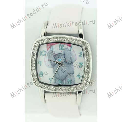 Часы Me to you - Мишка Тедди в шляпе - Me to You Bear Watch White MTY101/C 192 Me to You Bear Watch White