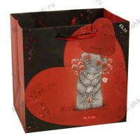 Medium Love Me to You Bear Gift Bag