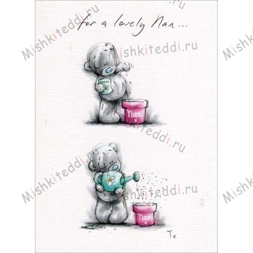 Nan Planting Mothers Day Me to You Bear Card Nan Planting Mothers Day Me to You Bear Card