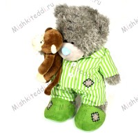 Мишка Тедди Me to You с обезьянкой - Me To You Tatty Teddy special Edition Holding Monkey MONKEY 78