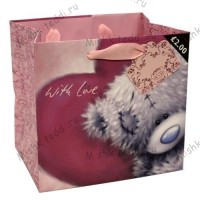 Tatty Teddy Small Softly Drawn Gift Bag