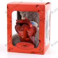Мишка Тедди Me to You с сердцем - Me To You Tatty Love Hearts Special Edition GO1W0526 98