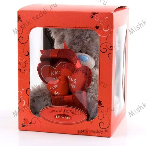 Мишка Тедди Me to You с сердцем - Me To You Tatty Love Hearts Special Edition GO1W0526 98 Me To You Tatty Love Hearts Special Edition