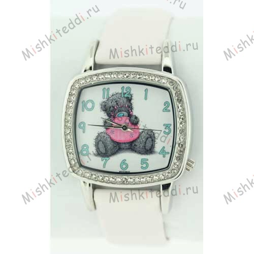 Часы Me to you - Мишка Тедди с сумкой - Me to You Bear Watch White MTY102/C 139 Me to You Bear Watch White