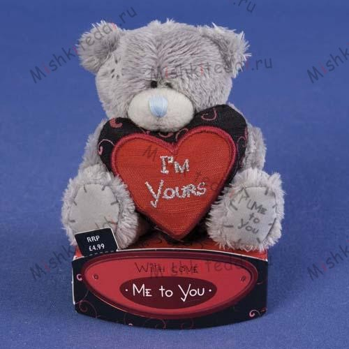 "Мишка Тедди Me To You  7,5 см с сердцем I am Yours - 3"" I am Yours Heart Me to You Bear G01W0501 70 3"" I am Yours Heart Me to You Bear"