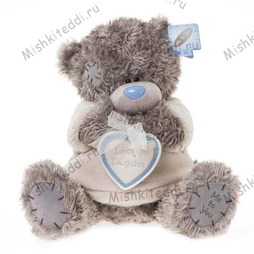 Мишка Тедди Me to You с сердцем - Lovely Daughter Me to You Bear  G01W1178 20 Lovely Daughter Me to You Bear