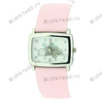 Часы Me to you- Мишки Тедди на бревнушке - Teddies on Log Me to You Bear Watch Pink MTY83/B 75