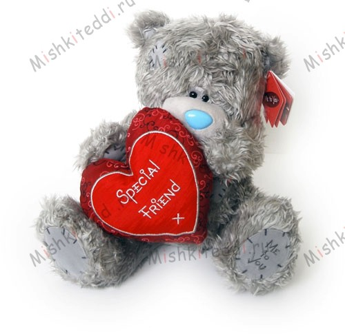 Мишка Тедди Me to you 30 см держит сердце Special Friend - ME TO YOU TATTY TEDDY   153 ME TO YOU TATTY TEDDY