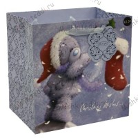 Medium Christmas Me to You Bear Gift Bag
