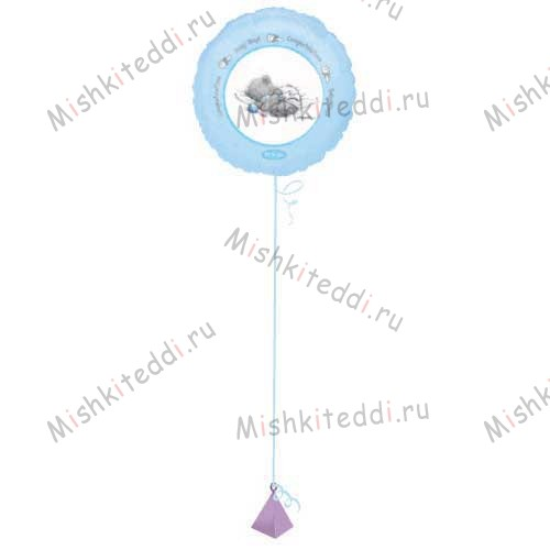 Baby Boy Helium Balloon Bouquet (Options Available) Baby Boy Helium Balloon Bouquet (Options Available)