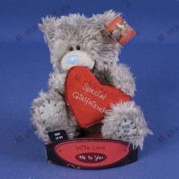 Мишка Тедди Me to You 15 см с сердцем Special Girlfriend - Special Girlfriend Heart Me to You Bear G01W1740 185