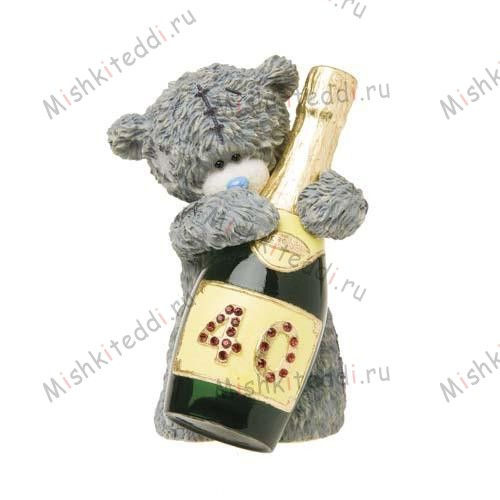 Sparkling 40th Me to You Bear Figurine Sparkling 40th Me to You Bear Figurine