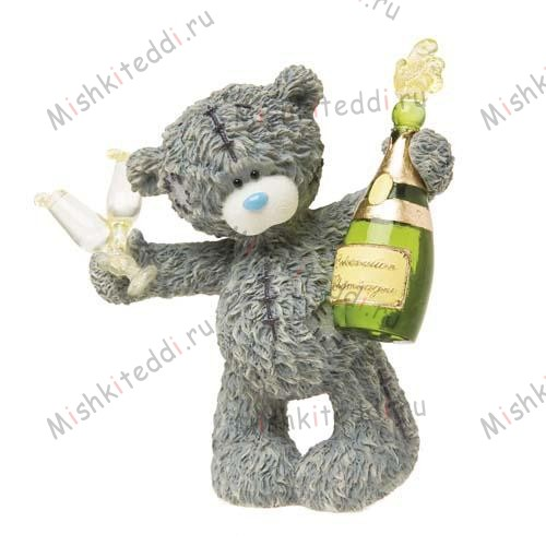 Time to Celebrate Me to You Bear Figurine Time to Celebrate Me to You Bear Figurine
