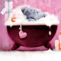 Tatty in Bath Me to You Bear Mothers Day Card