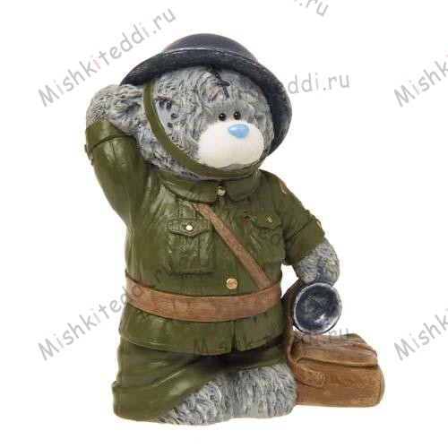 Soldier Soldier Me to You Bear Figurine (July Pre-Order) Soldier Soldier Me to You Bear Figurine (July Pre-Order)