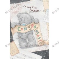 Congratulations on Your Exam Success Me To You Bear Card